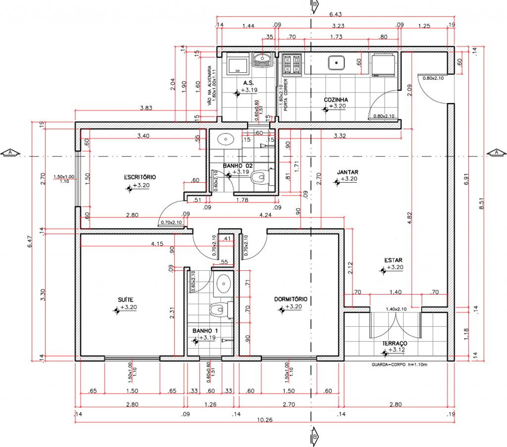 Imagem ilustrativa CAD